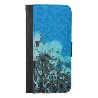 Capa Carteira Para iPhone 6/6s Plus Peixes que movem-se sobre o recife
