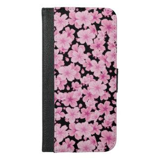 Capa Carteira Para iPhone 6/6s Plus Sakura