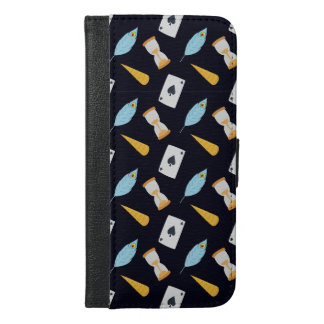 Capa Carteira Para iPhone 6/6s Plus Teste padrão bonito do conto de fadas
