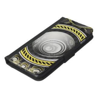 Capa Carteira Para iPhone 6/6s Plus Um bolo preventivo do Fractal cozido para GlaDOS