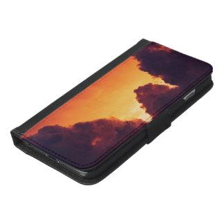 Capa Carteira Para iPhone 6/6s Plus w no tempo