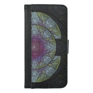 Capa Carteira Para iPhone 6/6s Plus Zen que desperta, reiki, curando, chakra