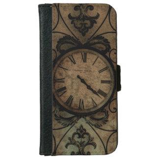 Capa Carteira Para iPhone 6/6s Pulso de disparo de parede antigo gótico Steampunk