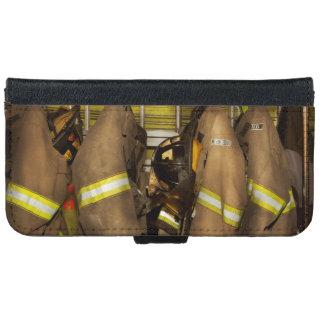 Capa Carteira Para iPhone 6/6s Sapador-bombeiro - engrenagem do depósito