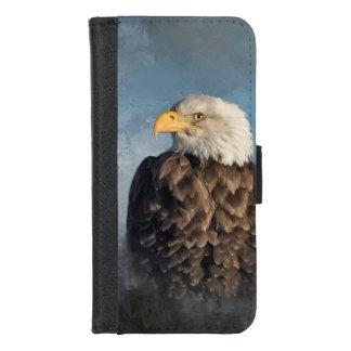 Capa Carteira Para iPhone 8/7 Águia americana