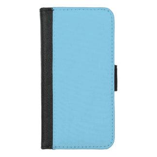 Capa Carteira Para iPhone 8/7 Azul-céu