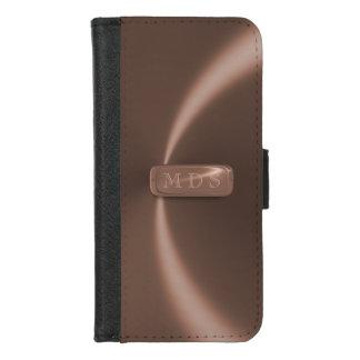 Capa Carteira Para iPhone 8/7 Caixa cor-de-rosa da carteira do iPhone da placa