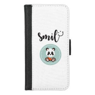 Capa Carteira Para iPhone 8/7 Caixa protetora da carteira do telefone da panda