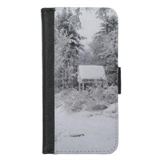 Capa Carteira Para iPhone 8/7 Casa boa no inverno por Phylli 2