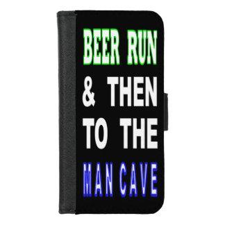 Capa Carteira Para iPhone 8/7 Cerveja funcionada & então à caverna do homem