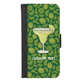 Capa Carteira Para iPhone 8/7 Cocktail de Margarita