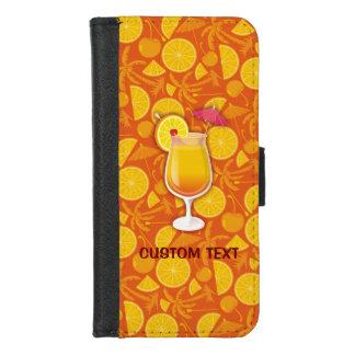 Capa Carteira Para iPhone 8/7 Cocktail do nascer do sol do Tequila