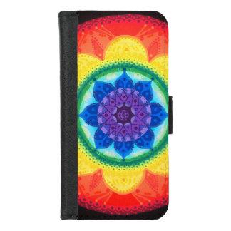 Capa Carteira Para iPhone 8/7 Colorido, brilhante, caixa da carteira do iphone