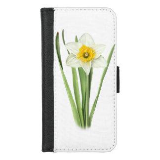 Capa Carteira Para iPhone 8/7 Daffodil - noiva alaranjada