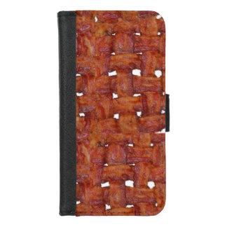 Capa Carteira Para iPhone 8/7 Esteira tecida do bacon
