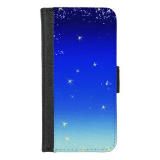 Capa Carteira Para iPhone 8/7 Estrelas no céu