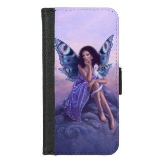 Capa Carteira Para iPhone 8/7 Fada & dragão Evanescent