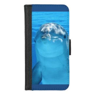 Capa Carteira Para iPhone 8/7 Foto amigável do golfinho