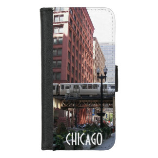 Capa Carteira Para iPhone 8/7 Foto de Chicago