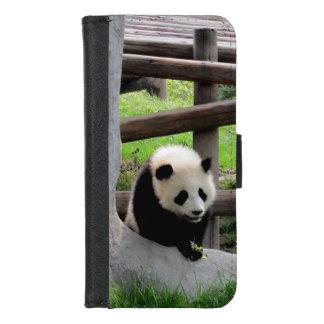 Capa Carteira Para iPhone 8/7 Fotografia da panda
