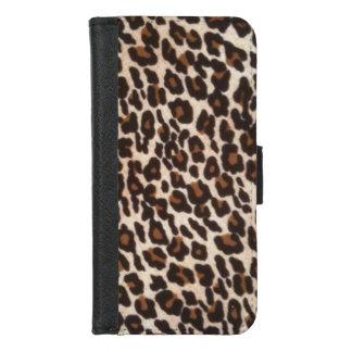 Capa Carteira Para iPhone 8/7 Impressão do leopardo selvagem
