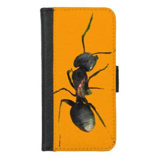 Capa Carteira Para iPhone 8/7 iPhone alaranjado abstrato da formiga 8/7 de caixa