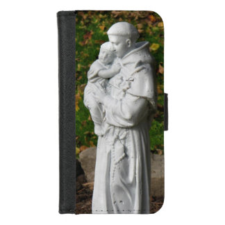 Capa Carteira Para iPhone 8/7 iPhone de St Anthony 8/7 de caixa da carteira