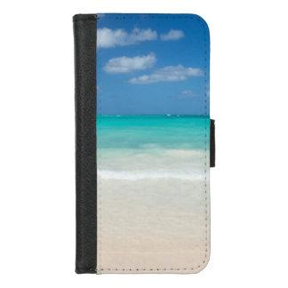 Capa Carteira Para iPhone 8/7 Paraíso das caraíbas da praia