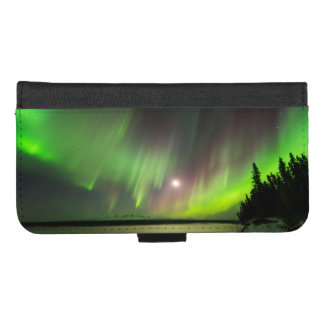 Capa Carteira Para iPhone 8/7 Plus Aurora majestosa