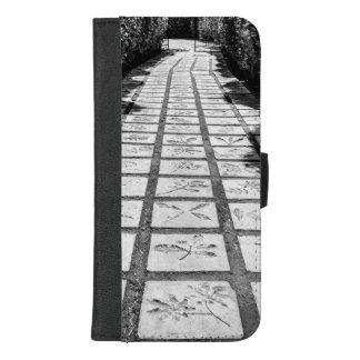 Capa Carteira Para iPhone 8/7 Plus Beco de pedra do trajeto