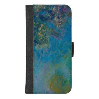 Capa Carteira Para iPhone 8/7 Plus Belas artes GalleryHD floral das glicínias de