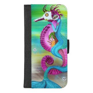 Capa Carteira Para iPhone 8/7 Plus Caixa da carteira do iPhone do viajante do