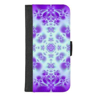 Capa Carteira Para iPhone 8/7 Plus Caixa da carteira do telefone do Fractal de Arella