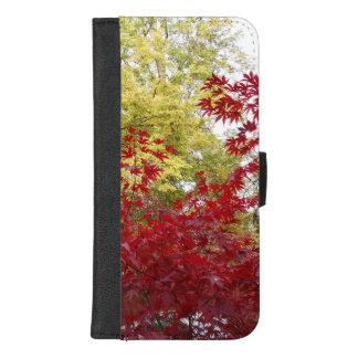 Capa Carteira Para iPhone 8/7 Plus Cores bonitas do outono