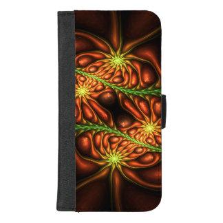 Capa Carteira Para iPhone 8/7 Plus Ervas daninhas