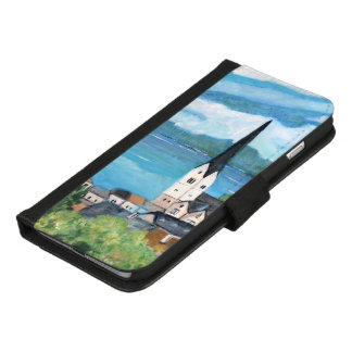 Capa Carteira Para iPhone 8/7 Plus Hallstatt - iPhone 8/7 positivo