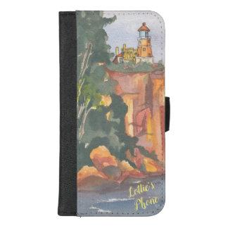 "Capa Carteira Para iPhone 8/7 Plus IPhone 8/7 de caixa ""vista para o mar"" da carteira"