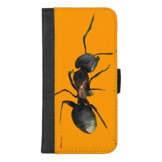 Capa Carteira Para iPhone 8/7 Plus iPhone abstrato da formiga 8/7 de caixa positiva
