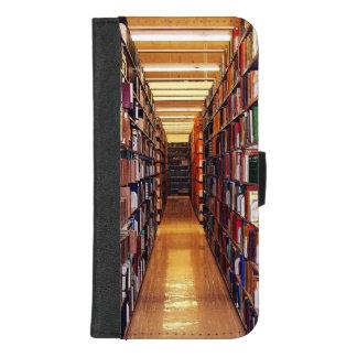 Capa Carteira Para iPhone 8/7 Plus iPhone das bibliotecas da biblioteca 8/7 de caixa
