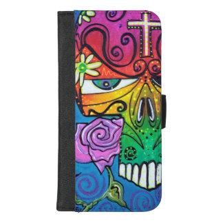 Capa Carteira Para iPhone 8/7 Plus Livre para voar a caixa da carteira do iPhone