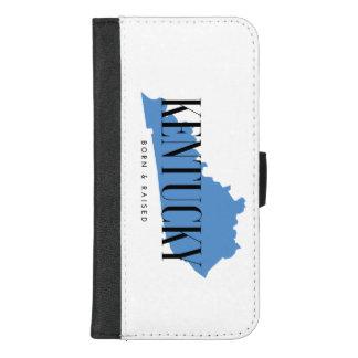 Capa Carteira Para iPhone 8/7 Plus Nascer de Kentucky e caixa aumentada da carteira