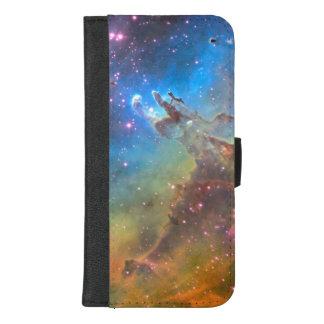 Capa Carteira Para iPhone 8/7 Plus Nebulosa de Eagle