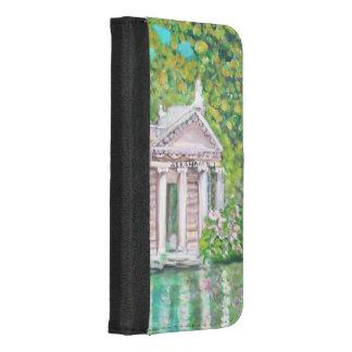 Capa Carteira Para iPhone 8/7 Plus Parque de Borghese - caixa positiva da carteira do