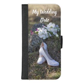 Capa Carteira Para iPhone 8/7 Plus Personalize sua caixa da carteira de Iphone da