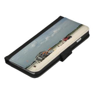Capa Carteira Para iPhone 8/7 Plus Suporte de guarda-chuva da praia de Jones