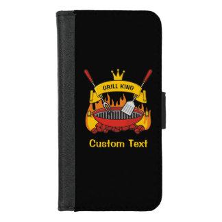 Capa Carteira Para iPhone 8/7 Rei da grade