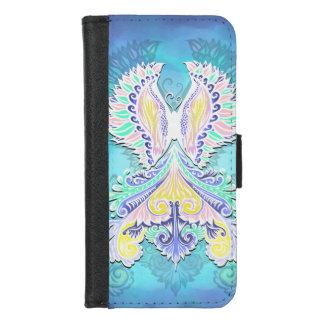 Capa Carteira Para iPhone 8/7 Renascido - luz, bohemian, espiritualidade