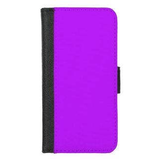 Capa Carteira Para iPhone 8/7 Roxo de néon