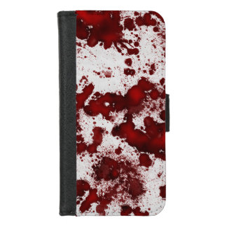 Capa Carteira Para iPhone 8/7 Splatter do sangue de Falln