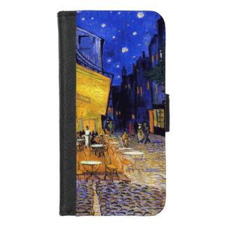 Capa Carteira Para iPhone 8/7 Terraço do café na noite por Vincent van Gogh